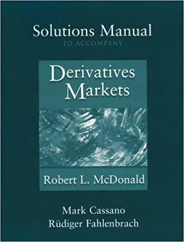Amazon solutions manual to accompany derivatives markets solutions manual to accompany derivatives markets 1st edition fandeluxe Images
