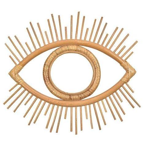 Amazon.com: Rattan Crafts Eye Wall Mirror Frame,Vintage ...