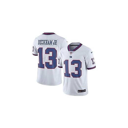 quality design 7190e c33d4 Amazon.com : Nike NFL NY Giants Odell Beckham Jr. Men's ...