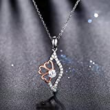 J.Rosée Necklaces, Heart Necklace 925 Sterling