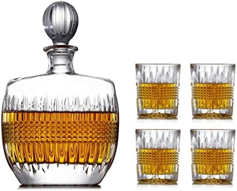 LSRRYD Conjunto De Botella De Whisky 5 Piezas Sobrio Rápido ...