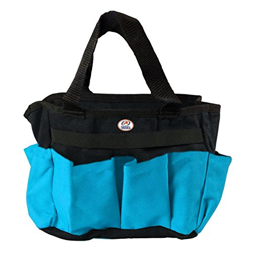 Derby Originals Horse or Dog Grooming Tote Bag Super Sale (Turquoise/Black) Wholesale Dog Grooming Supplies