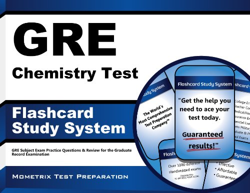 GRE Chemistry Test Flashcard Study System: GRE Subject Exam Practice Questions & Review for the Graduate Record Exam