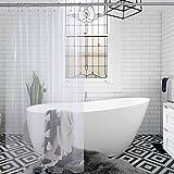 Clear Shower Curtain Amazer Shower Curtain Liner, 72