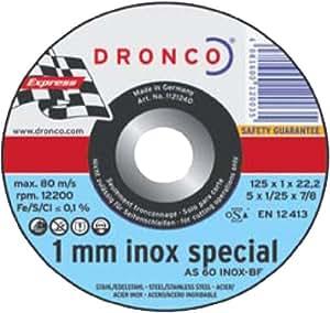 Dronco DRONCO AS 60T 115x 1,0x 22,2310+ 1Lifetime de Plus lata