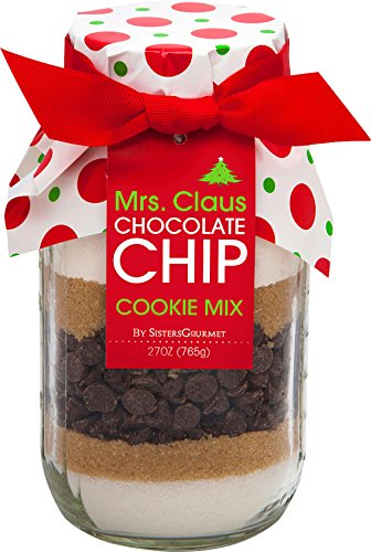 Sisters' Gourmet Mrs. Claus Chocolate Chip Cookie Mix, 27 Ounce