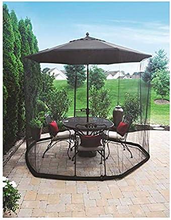 蚊帳、傘蚊のパティオテーブルスクリーン、ガゼボ、パラソル、335cm220cmに適しています