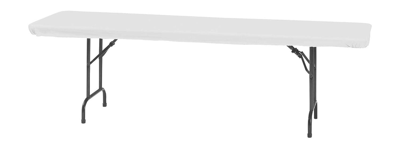 Amazon Com Creative Converting Stay Put Elastic Tablecloth White