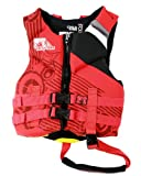 Body Glove Child's Phantom U.S. Coast Guard Approved Neoprene Pfd Life Vest (Red/Black)