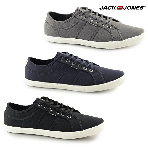 Jack & Jones Herren 'Ross Canvas Pump Trainer 0 Marine