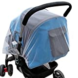 Bilila Summer Safe Baby Carriage Insect Full Cover Mosquito Net Baby Stroller Bed Netting