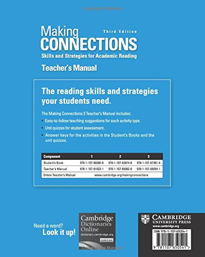 buy making connections level 3 teacher s manual skills and rh amazon in making connections level 3 teacher's manual pdf making connections 3 teacher's manual pdf free download