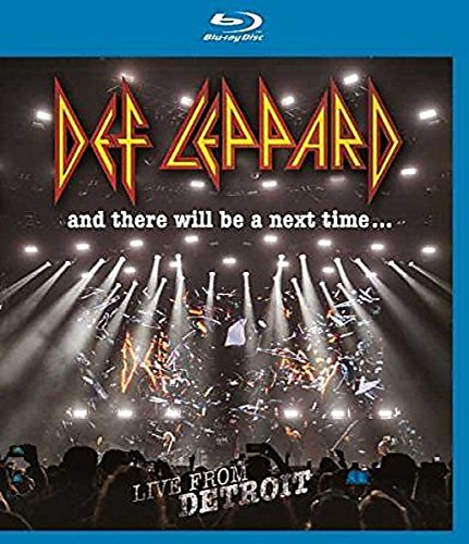 Blu-ray : Def Leppard - & There Will Be A Next Time: Live From Detroit (United Kingdom - Import)
