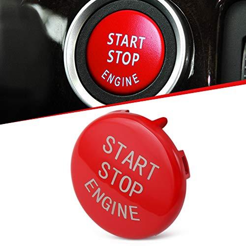 Price comparison product image Red Start Stop Engine Button Switch Cover Fit BMW X5 E70 X6 E71 3 E90 E91 E92 E93 E87 E83 E89 320 520 525 328i(2007-2013) 335i 330i 3 5 Series Accessories