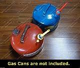eagle gas spout - 2 Flexible Fuel Spouts w/ Airtight Cap FITS 1.5