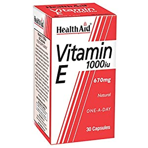 HealthAid Vitamin E 1000iu – 30 Capsules