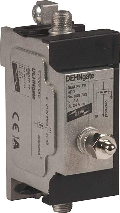 Dehn 909703 - Descargador dga ff tv para cable coaxial