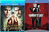 Heath Ledger A Knight's Tale + The Brothers Grimm (Blu-ray) Modern Fairy Tale Double Feature set