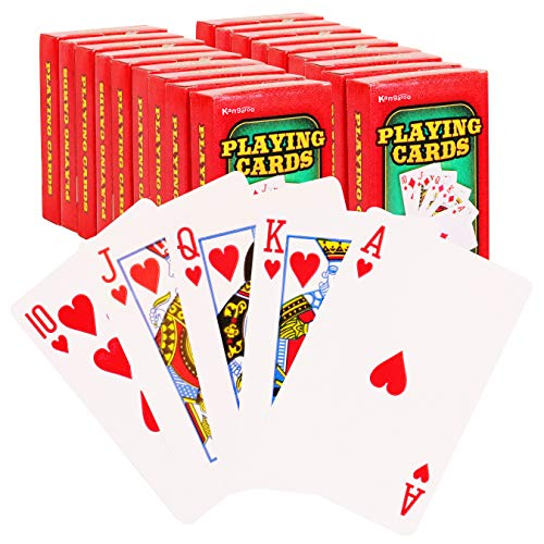 Kangaroo Poker/Blackjack Playing Cards, (18-Pack) 2.25
