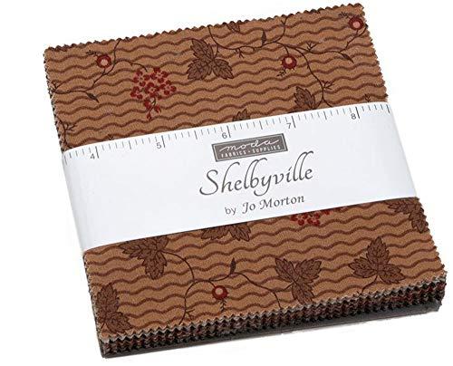 [해외]Shelbyville Charm Pack by Jo Morton; 42-5 Inch Precut Fabric Quilt Squares / Shelbyville Charm Pack by Jo Morton; 42-5 Inch Precut Fabric Quilt Squares