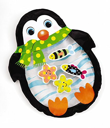 - Earlyears Penguin Tabletop Water Pal Travel Water Play Mat for Ages 6 Months and Up
