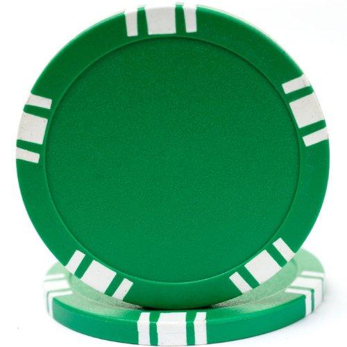 5 Spot Blank Poker Chips - 1