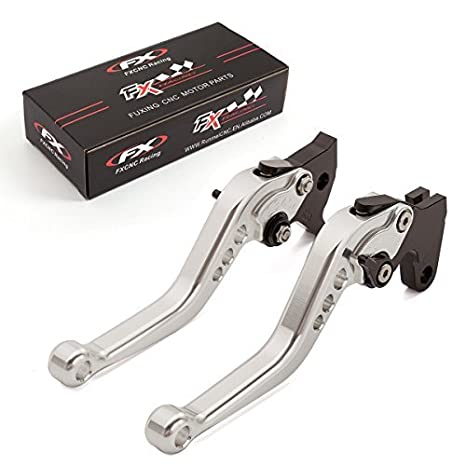 FXCNC Racing Short Brake Clutch Levers for Yamaha FZ-10/MT-10 16