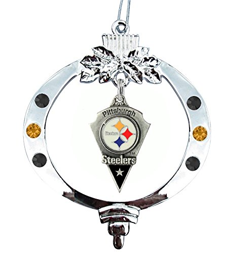 Pittsburgh Steelers Christmas Ornament (Arrowhead) (Pittsburgh Ornaments Christmas Steelers)