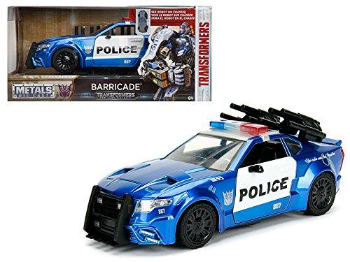 StarSun Depot Barricade Custom Police Car from Transformers Movie 1/24 Model Car by Jada Metals