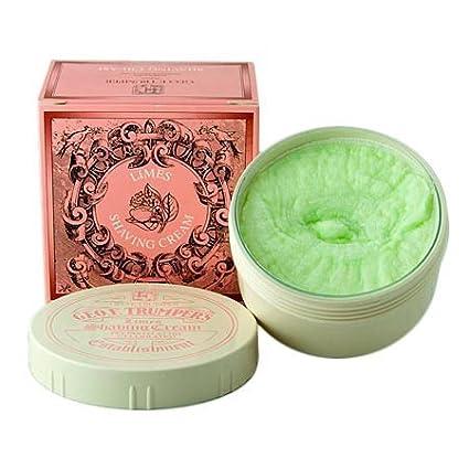 Geo F. Trumper Shaving Cream Tub - Lime Limes Shaving Cream Jar