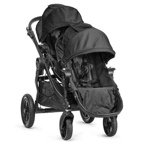 Baby Jogger 2014 City Select Stroller Black Frame WITH Second Seat Black