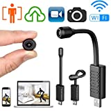 Smallest Spy Hidden Camera,ZTour Wireless Wi-Fi Camera HD APP Mini Portable Covert Security