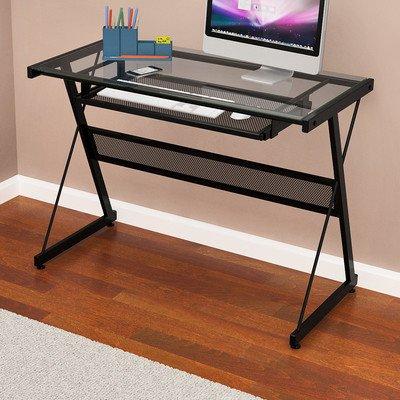 Z-Line Designs Brea Computer Desk, Black by Z-Line Designs