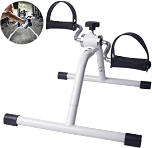 AMAIRS Mini Bicicleta Estática, Entrenador De Piernas Cinta De ...