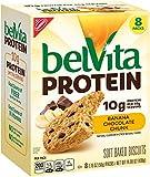 Belvita Protein Banana Chocolate Chunk Biscuits, 14.08 oz