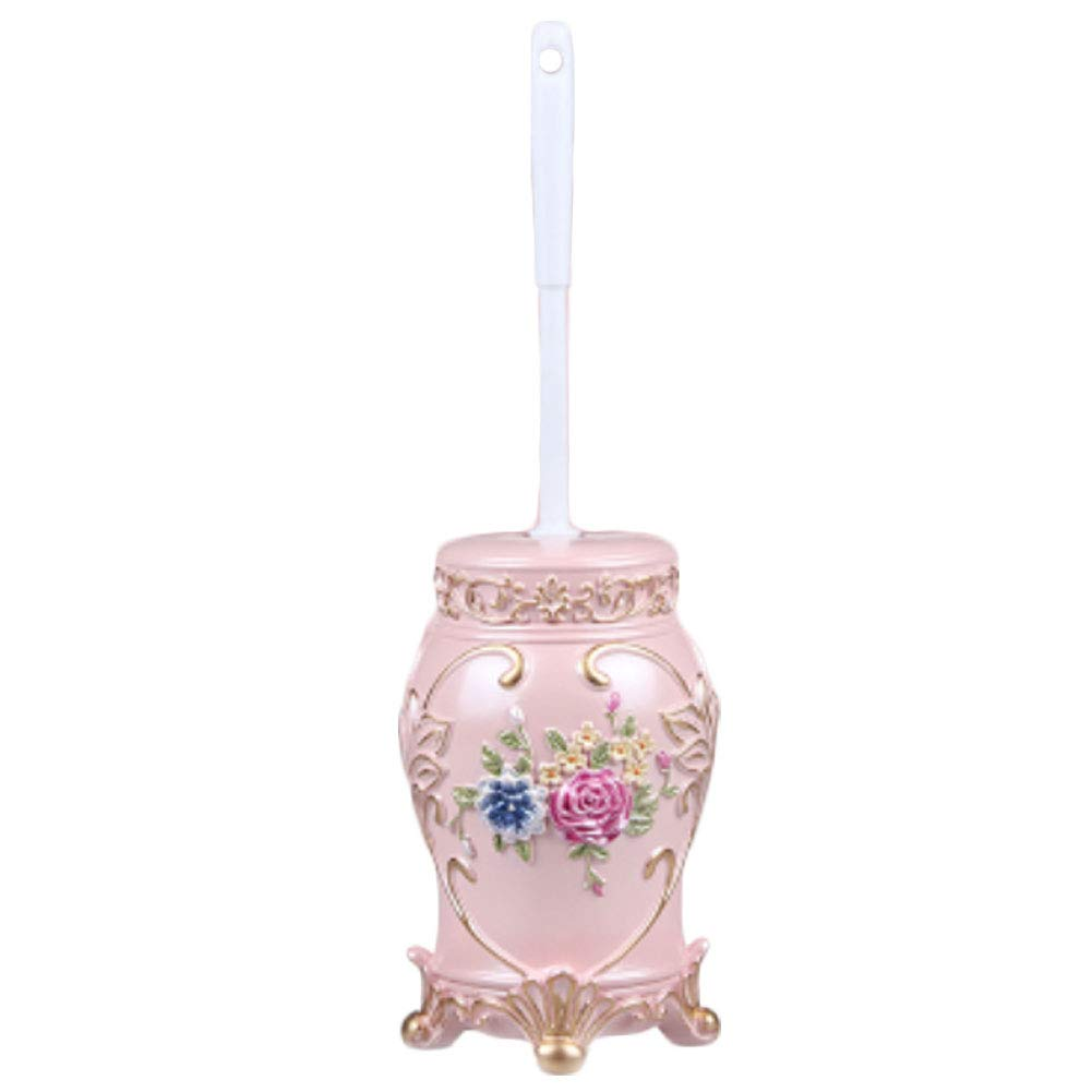 LUNA Fashion Hideaway Toilet Brush with Holder for Home Or Hotel (A10)
