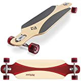 "Street Surfing Freeride Carving Longboard, 39"", Red"