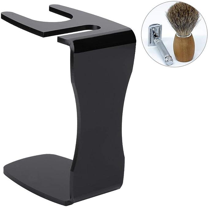 Porta afeitadora portátil y soporte para brocha, herramienta de ...