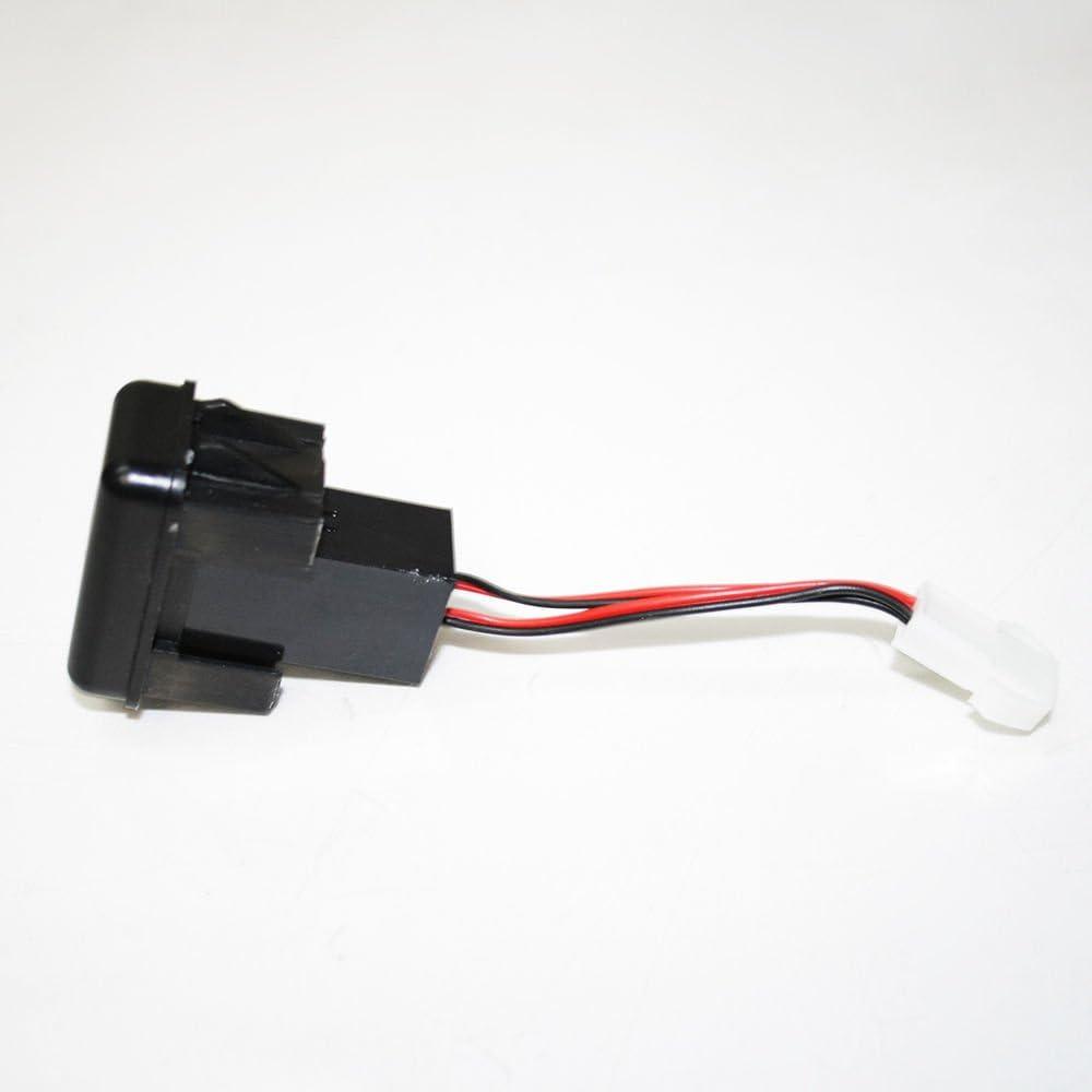 con doppia porta USB e indicatore LED Supporto per cruscotto da 12 V e 24 V