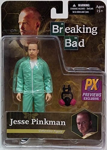 BREAKING BAD JESSE PINKMAN PX EXCLUSIVE BLUE HAZMAT 6-IN ACTION - Outlets Miami In Shopping