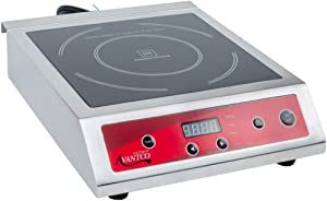 (Ship from USA) Avantco IC3500 Countertop Induction Range / Cooker - 208/240V, 3500 Watt /ITEM NO#E8FH4F854120572