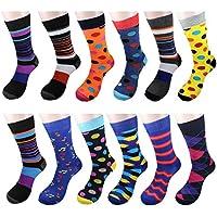 12pares hombre calcetines de vestido