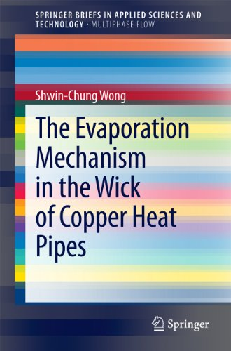 Evaporator Pipe - The Evaporation Mechanism in the Wick of Copper Heat Pipes (SpringerBriefs in Applied Sciences and Technology)