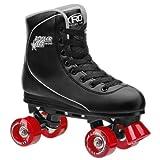 Roller Derby Men's Star 600 Quad Roller Skate, Black/Red, 12