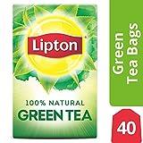Lipton Green Tea Bags, 100% Natural Tea, 40 ct, Pack of 3