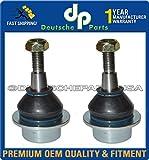FRONT LOWER CONTROL ARMS BALL JOINTS LH & RH for JAGUAR S TYPE C2C257889BJ Set 2