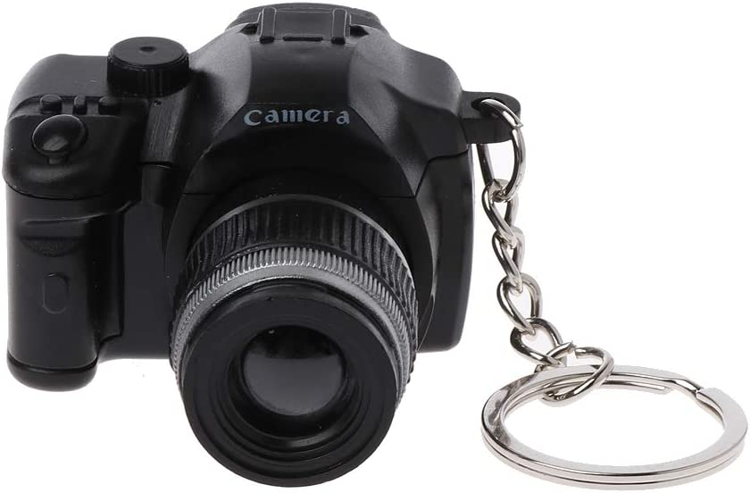 Xuniu Mini Llavero, cámara réflex Digital réflex Digital LED luz ...