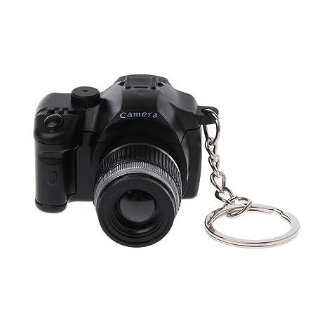 Xuniu Mini Llavero, cámara réflex Digital réflex Digital LED ...