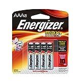 Energizer E92BP8 Max AAA8 Batteries