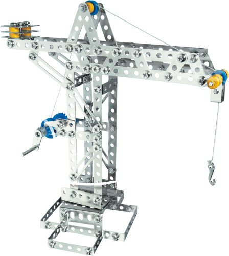 (Eitech Crane and Windmill Construction Set and Educational Toy - Intro to Engineering and STEM Learning)